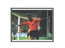 Patrick Kluivert Autograph Signed Photo - Holland